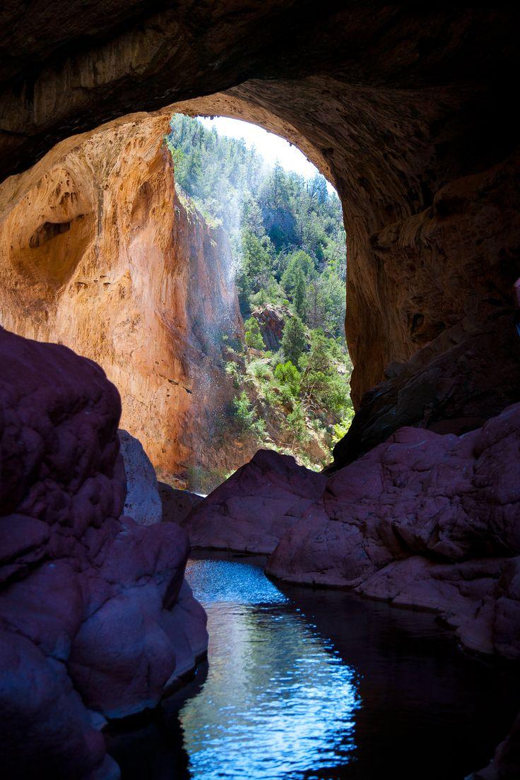 Natural Bridge, Tonto Mesa area Arizona.