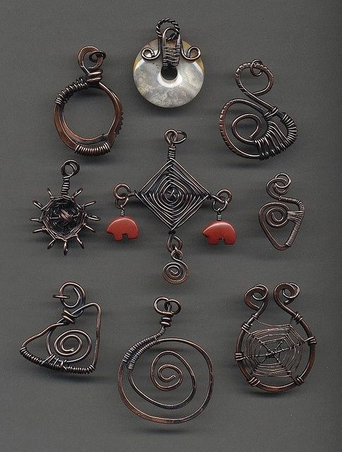 103 best wire wrapping images on Pinterest   Craft jewelry, Make ...