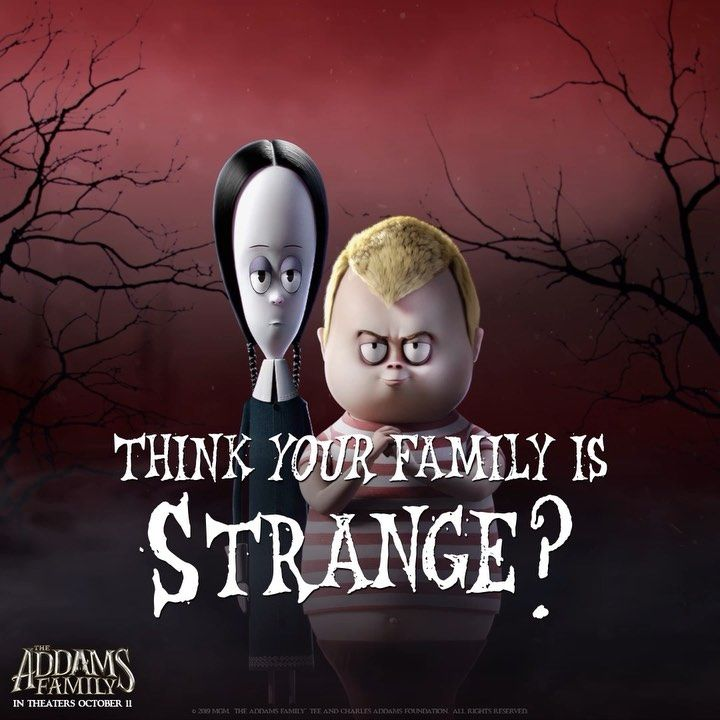 Addams Family Movie On Instagram Ours Is Stranger Finnwolfhardofficial And Chloegmoretz Are Pugsley And We Addams Family Addams Family Movie Family Movies