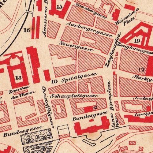 Plan-XIXe-Berne-Bern-Suisse-Switzerland-Remy-Hausermann