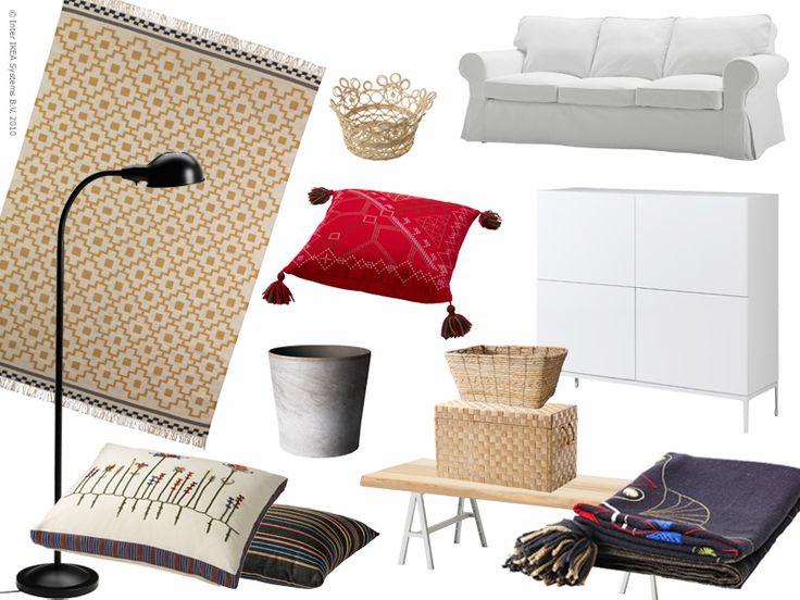 Vardagsrum 2: Modern allmoge | IKEA Livet Hemma – inspirerande inredning för hemmet