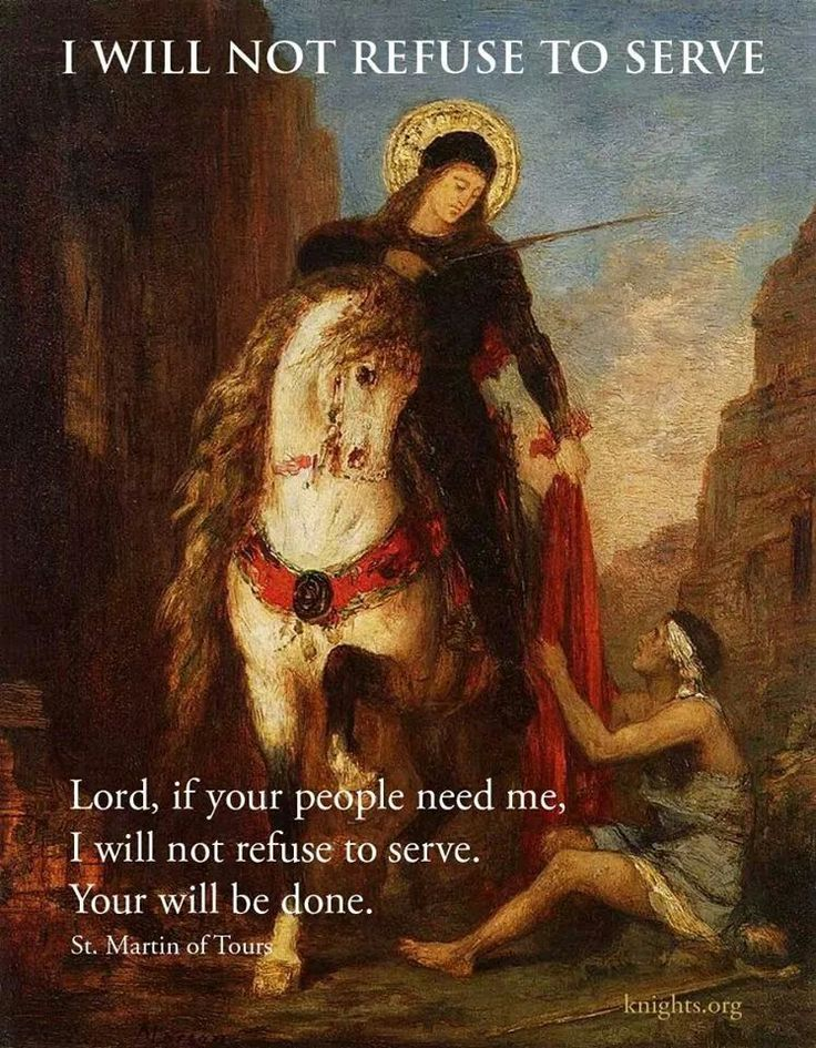 St. Martin of Tours Feast Day- November 11th