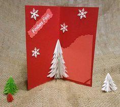 die besten 25 pop up karten selber machen weihnachten ideen auf pinterest 3d karten selber. Black Bedroom Furniture Sets. Home Design Ideas