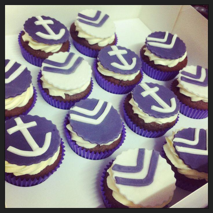Fremantle Dockers cupcakes!