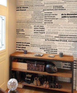 """Papier peint """"Proverbes"""""""