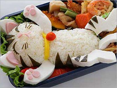 Hard to eat, toooo cute !