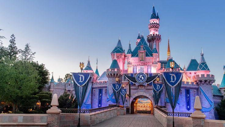 Disneyland And Disneyworld In United States