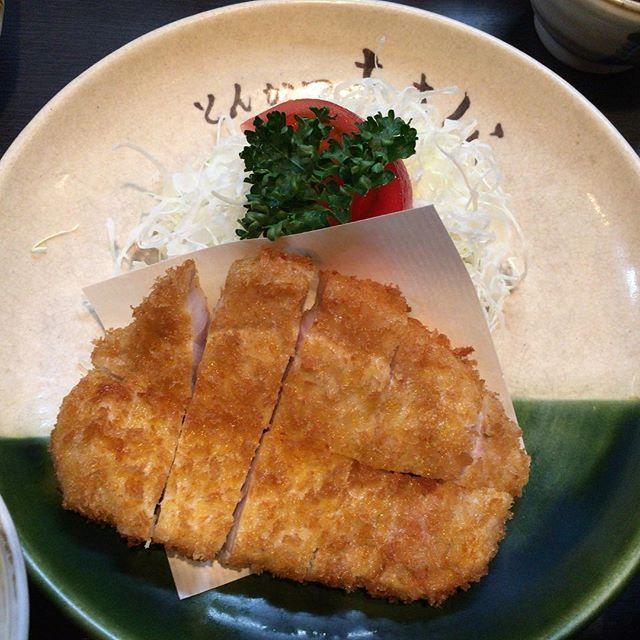 #トンカツ #とんかつ #tonkatsu  #とんかつあさくら #あさくら  #名古屋 #nagoya  #夕食 #ディナー #dinner #カツ  #肉 #meat #豚 #pork #豚肉
