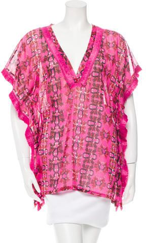 M Missoni Floral Printed Tunic