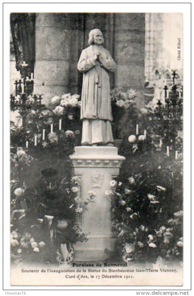 (28) 1317, Bonneval, Cliché Filleul, Souvenir De L'Inauguration De La Statue Du Bienheureux Jean-marie Vianney - Bonneval