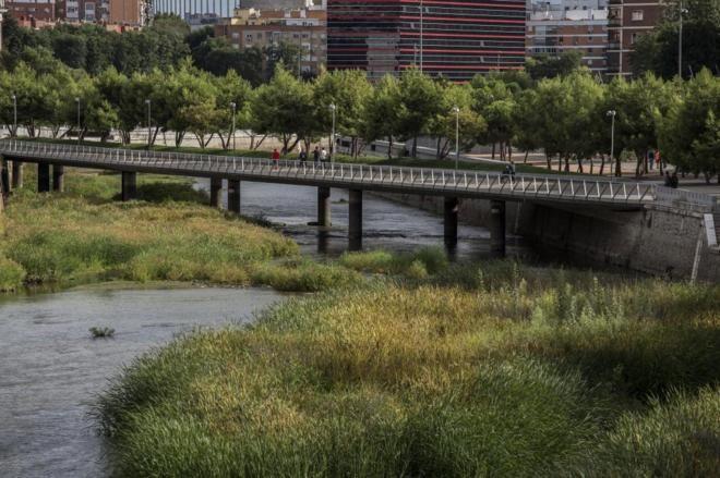 El Ayuntamiento de Madrid despierta al Manzanares | Madrid Home | EL MUNDO