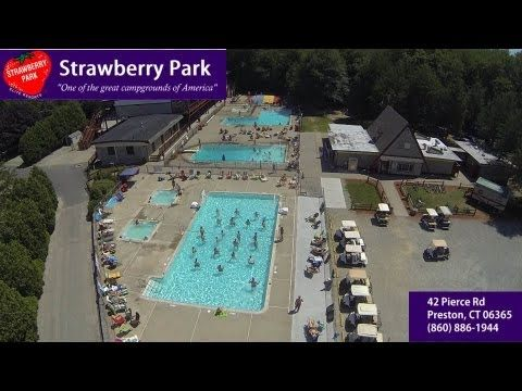 Strawberry Park Resort Campground - Preston, CT