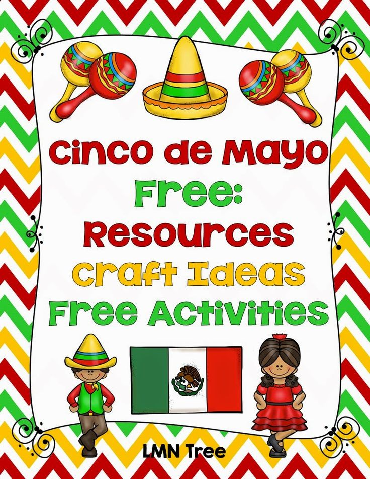 LMN Tree: Cinco de Mayo: Free Resources, Free Activities, Craft Ideas, and Lessons