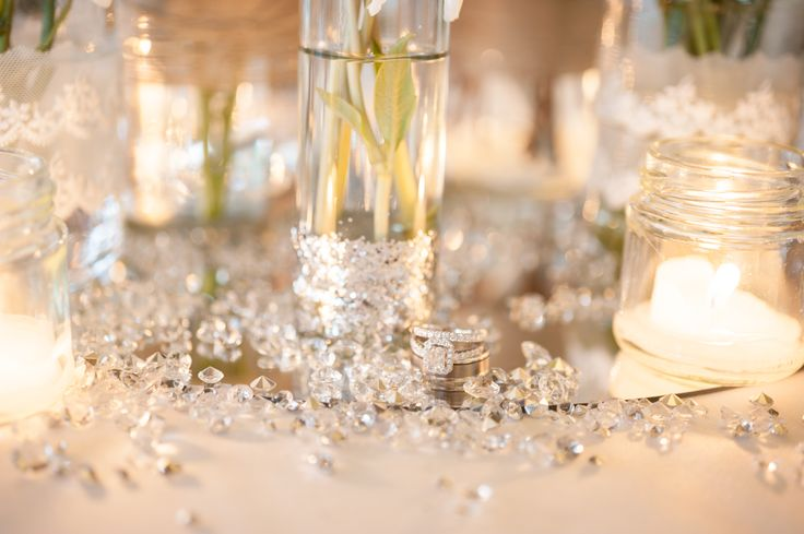 Photos from our beautiful clients who have used our mason jars at their weddings.