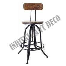 industriale redazione sgabello sedia vintage metalliche in acciaio negozio toledo sgabelli da bar regolabile