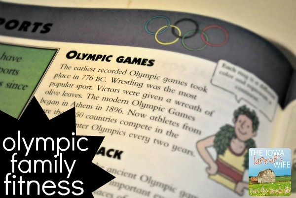 The Iowa Farmer's Wife: Olympic Family Fitness