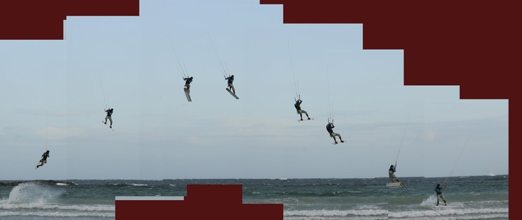 tiree for Kitesurfing - can't beat it - leo doing air: Favorite Places