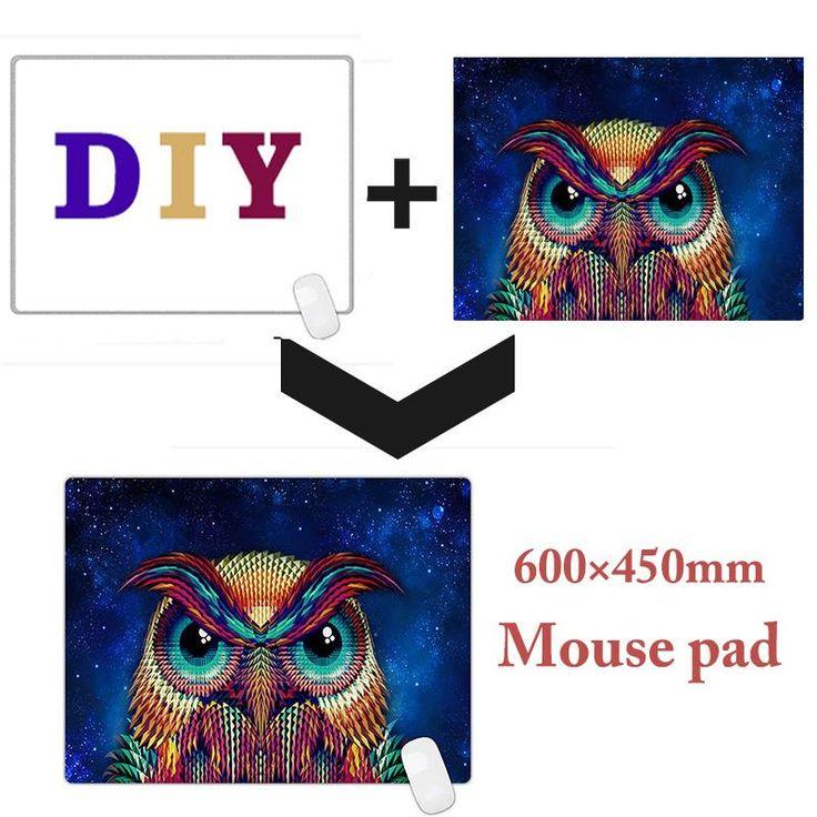 [Visit to Buy] DIY Gaming mouse pad  Large custom Mouse Pad Big Desk Mat personalized for gta 5/CS/ mac 600x450mm  #Advertisement