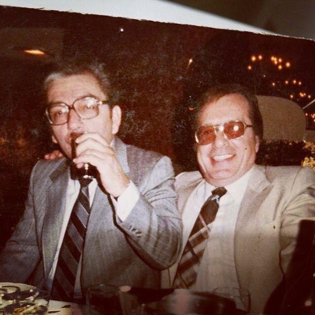 Anthony Scarpati and Greg Scarpa. Courtesy of Linda Scarpa