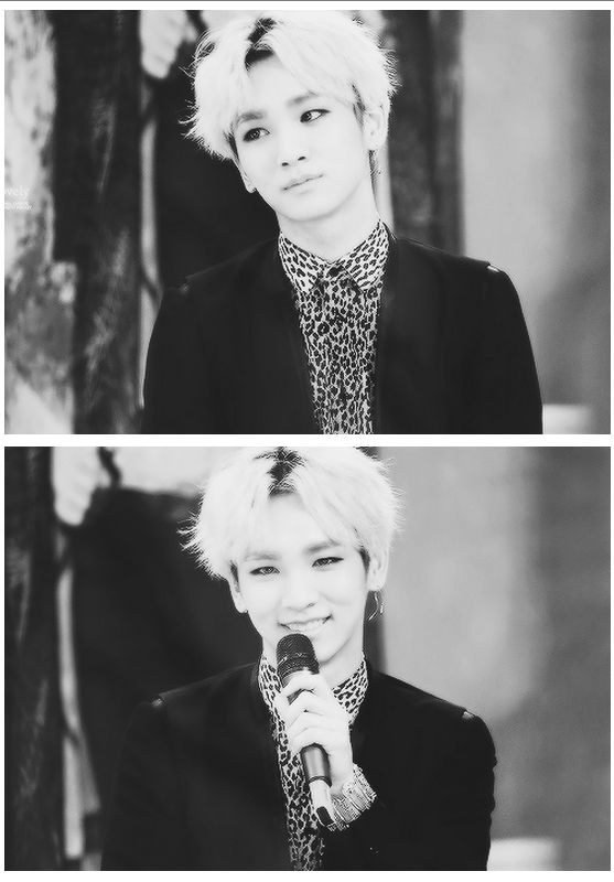 Could we all just agree how Key looks cute and handsome in blonde? #KimKibum #SHINee
