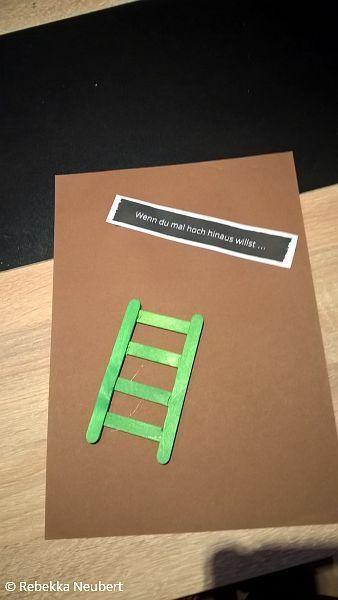 Wenn du mal hoch hinaus willst ...  Wenn Buch | Bastelanleitung | Wenn Buch Ideen | Wenn Buch basteln | Geschenksidee | selbstgemachte Geschenke
