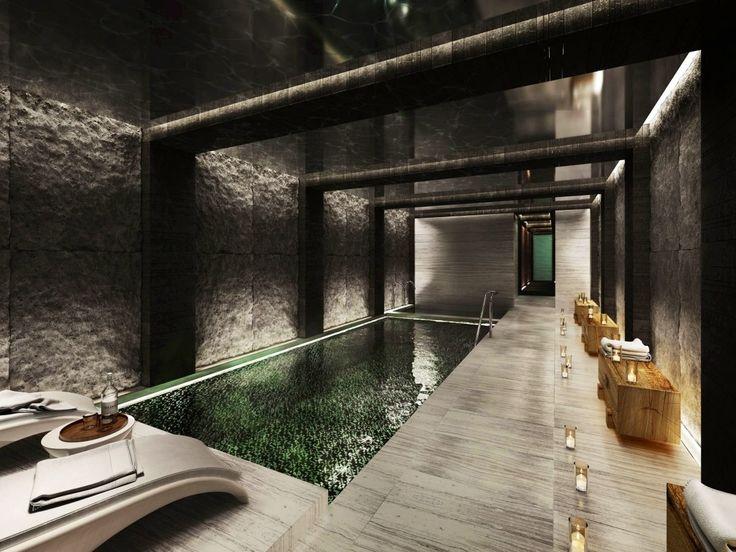 Luxury indoor pool