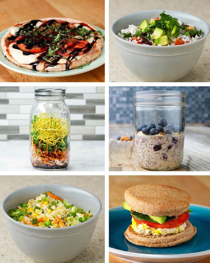 Healthier Dorm-Friendly Meals by Tasty