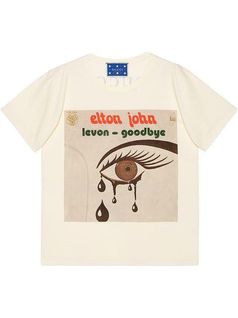 a7fdb06993d4 Gucci Gucci Elton John T-shirt in 2019 | Wish List | Shirts, Gucci, T shirt