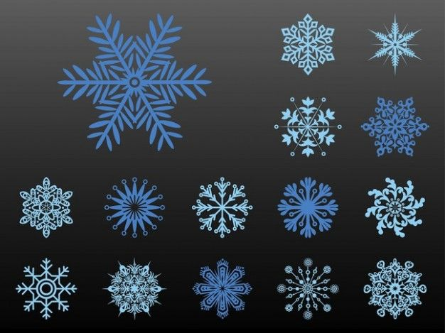 Frozen Snowflake Patterns | Party Invitations Ideas