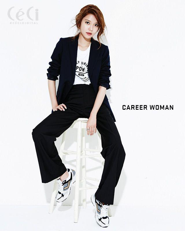 Sooyoung de Girls' Generation para la revista CeCi; muestra cuatro diferentes looks | Soompi Spanish