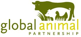 Global Animal Partnership, a nonprofit charitable organization, brings together farmers, scientists, ranchers, retailers, and animal advocates—a diverse group with the common goal of wanting to improve the welfare of animals in agriculture.