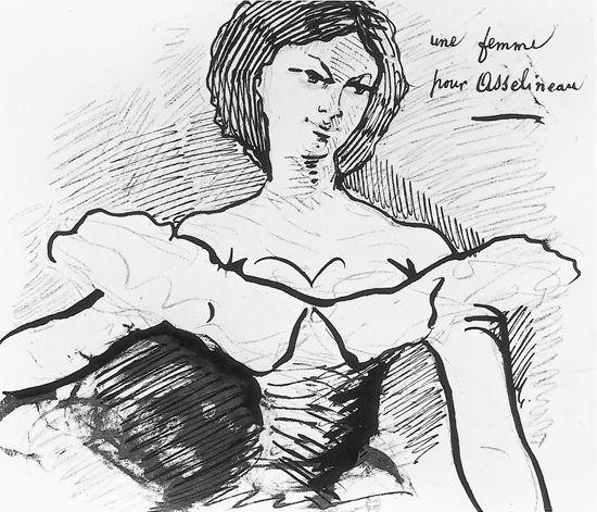 Apollonie Sabatier by Baudelaire