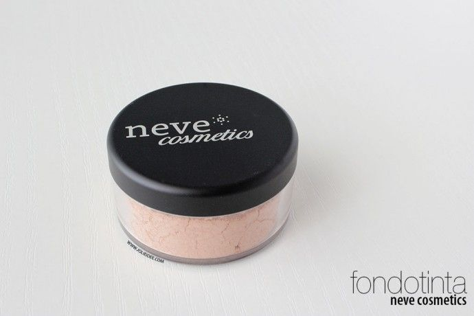 Review Fondotinta Neve Cosmetics Light Rose e INCI #foundation #fondotinta #minerale #mineral #makeup
