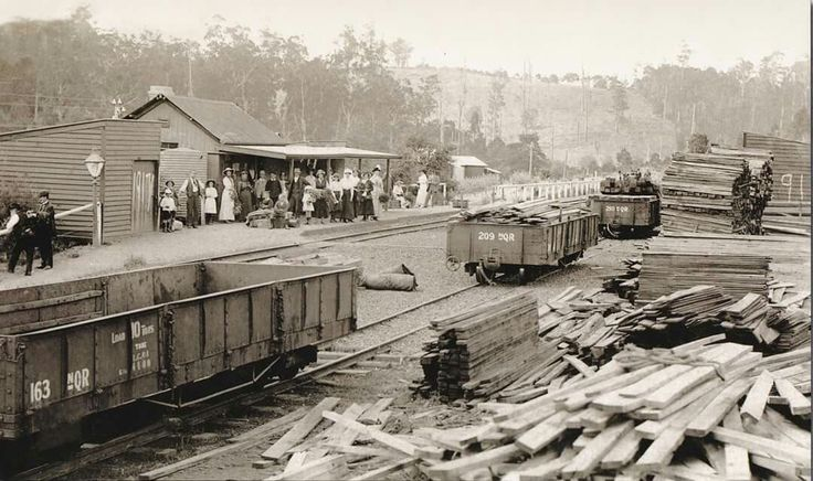 Cockatoo Railway Station in Victoria in 1917.