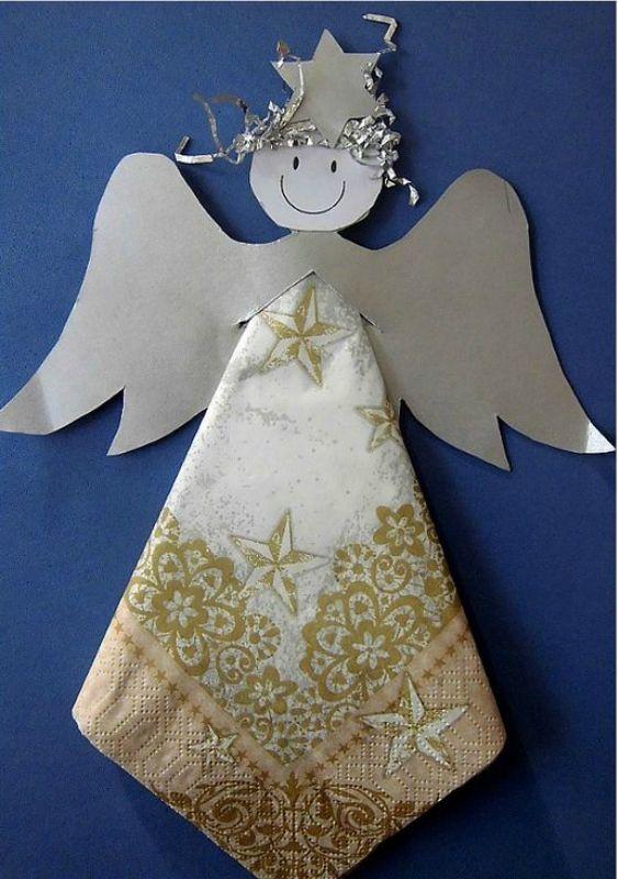 Открытки ангелочки своими руками