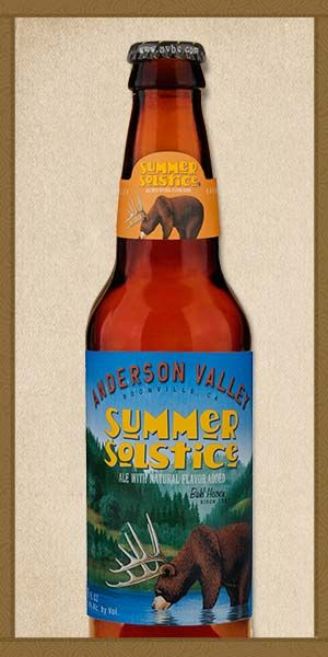Summer Solstice - Anderson Valley Brewing Company - My favorite beer of all time, thanks to @JulieAnne Salisbury
