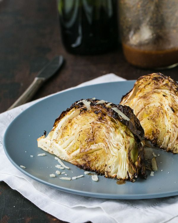 Roasted Cabbage Wedge Salad | Recipe | Roasted Cabbage ...