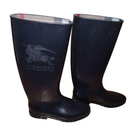 BURBERRY Bottes de pluie http://www.videdressing.com/bottes-de-pluie/burberry/p-4746884.html?&utm_medium=social_network&utm_campaign=FR_femme_chaussures_bottes_4746884