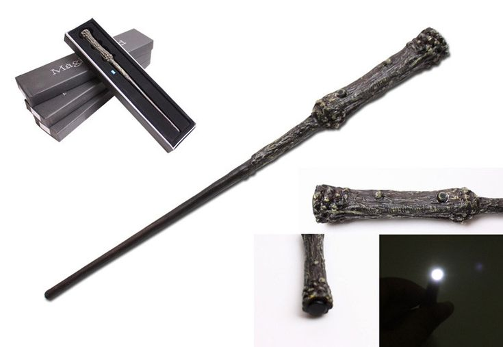 $33.27 - Cool New Quality Deluxe COS Harry Potter Magical Wand LED Light Flashing/Black Gift Box in Harry Potter Wizarding World - Buy it Now!