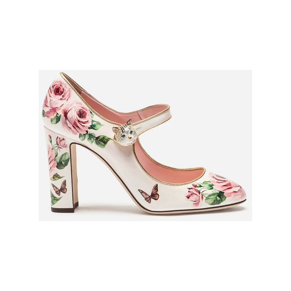 64015576d8cae Dolce & Gabbana Mary Jane in Printed Patent Leather ($1,300 ...