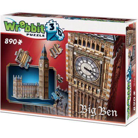 Big Ben 3D Puzzle 890 Pieces