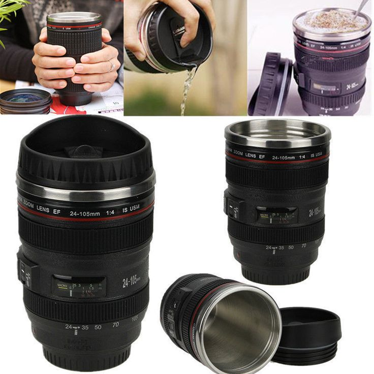 CAMERA CANIAM EF 24-105MM LENS COFFEE MUG FREE Economy Shipping. Limited Stock! They WILL go this week! Get Yours Now!