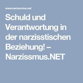 Schuld und Verantwortung in der narzisstischen Beziehung! – Narzissmus.NET