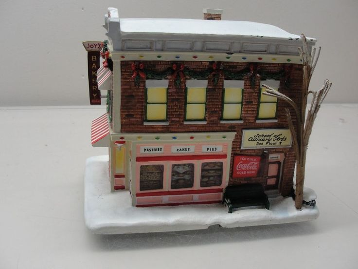 2003 HAWTHORNE VILLAGE JOY'S BAKERY COCA COLA HOLIDAY COLLECTION CHRISTMAS A2970 #HawthorneVillage