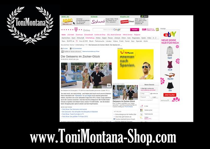 Die Geissens Robert Geiss im T-Online.de Robert Geiss im ToniMontana AM Polo