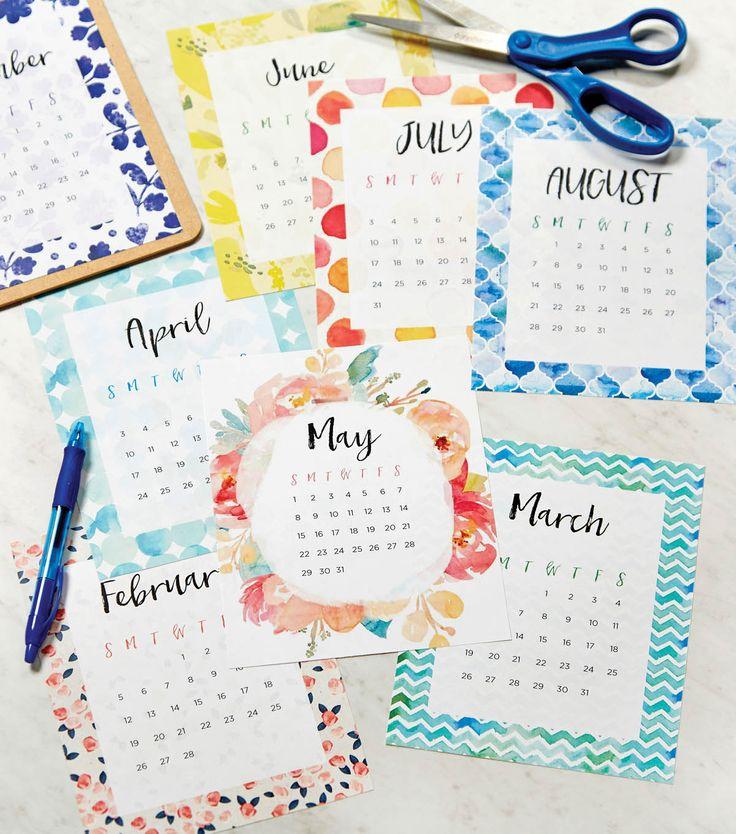 Jo-Ann Printable Calendar                                                                                                                                                      More