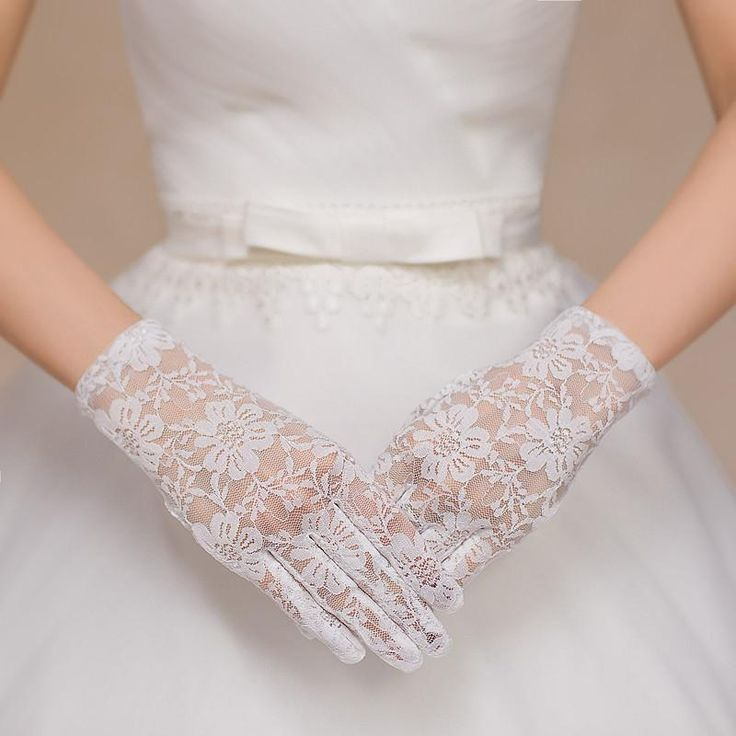 Debutante Gloves Simple Lace Full Fingers Short Bridal Gloves 2016 Pretty New Wrist Length Formal Wedding Lovely Girls Bridal Accessories Hot Sale Bg003 Blue Fingerless Gloves From Weddingdressesonline, $5.19| Dhgate.Com