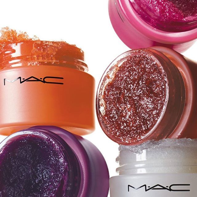 @maccosmetics Pucker up! Get totally smooth lips with MAC Lip Scrubtious. This new sugar-bas