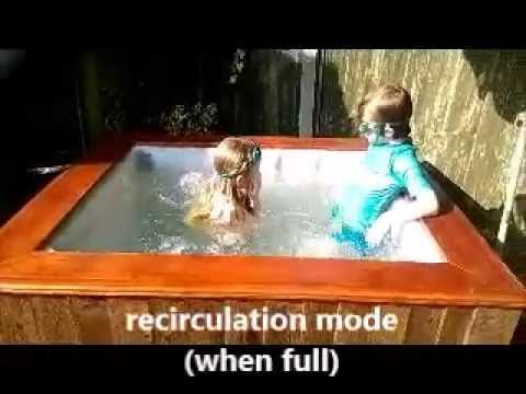 How to build a Hillbilly IBC hot tub project - YouTube