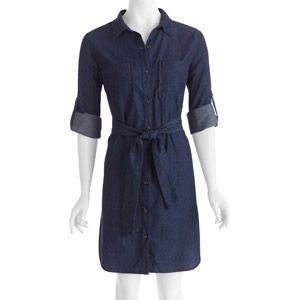 Womens Denim Shirt Dress